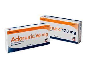 Adenuric kopen zonder recept