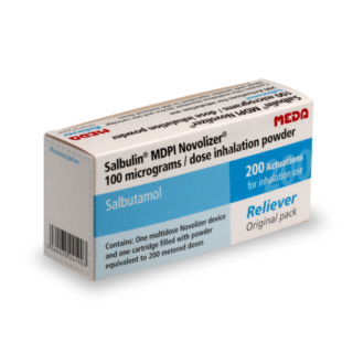 Salbulin kopen zonder recept