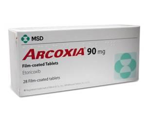 Arcoxia kopen zonder recept