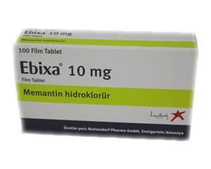Ebixa kopen zonder recept