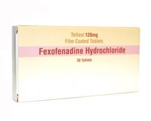 Fexofenadine kopen zonder recept